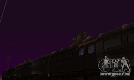 Batman Begins Monorail Train v1 pour GTA San Andreas vue de côté
