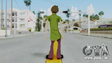 Scooby Doo Salcisha-Shaggy für GTA San Andreas dritten Screenshot