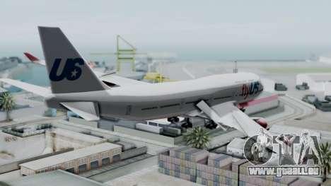 GTA 5 Jumbo Jet v1.0 FlyUS pour GTA San Andreas laissé vue
