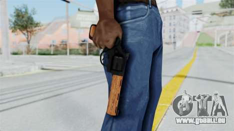 Wood Revolver pour GTA San Andreas