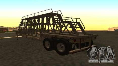 Der trailer panels für GTA San Andreas linke Ansicht