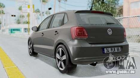 Volkswagen Polo 6R 1.4 HQLM für GTA San Andreas linke Ansicht