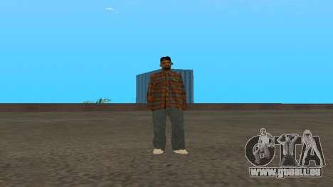 Skin FAM3 pour GTA San Andreas troisième écran