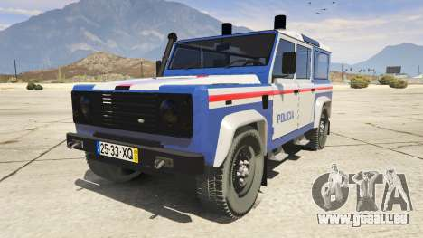 Land Rover Defender für GTA 5