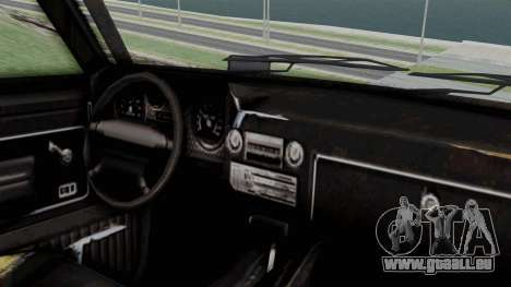 GTA 5 Karin Rebel 4x4 Worn für GTA San Andreas rechten Ansicht