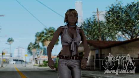 Resident Evil 4 Ultimate HD - Ashley Leather für GTA San Andreas