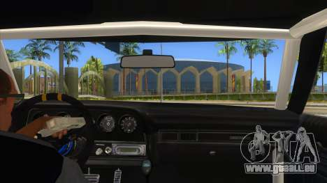 Ford Gran Torino Drag für GTA San Andreas Innenansicht