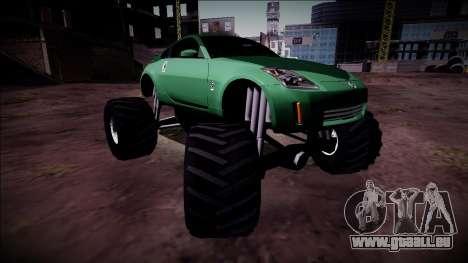 Nissan 350Z Monster Truck für GTA San Andreas