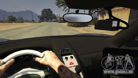 GTA 5 Porsche Carrera GT Cop vorne rechts Seitenansicht
