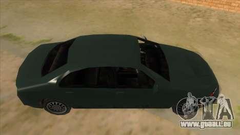 GTA LCS KURUMA pour GTA San Andreas vue intérieure