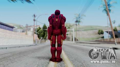Ironman Skin pour GTA San Andreas troisième écran
