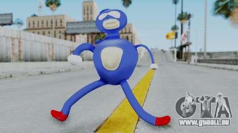 Sanic Hegehog pour GTA San Andreas deuxième écran