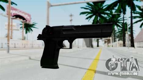 Pouxs Desert Eagle v2 Black pour GTA San Andreas