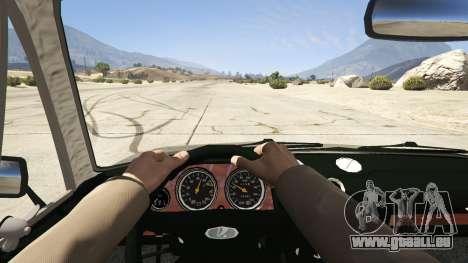GTA 5 VAZ 2106 Rückansicht