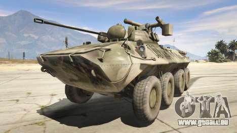 BTR-90 Rostok für GTA 5