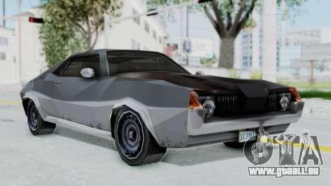 GTA LCS Hellenbach GT pour GTA San Andreas sur la vue arrière gauche