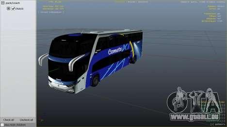 Marcopolo Paradiso 1800 pour GTA 5