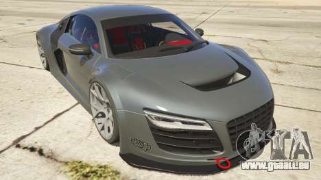 Audi R8 LMS Street Custom pour GTA 5
