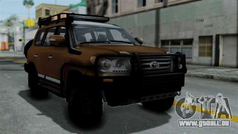 Toyota Land Cruiser 2013 Off-Road pour GTA San Andreas