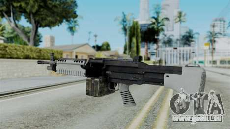 GTA 5 Combat MG - Misterix 4 Weapons pour GTA San Andreas deuxième écran