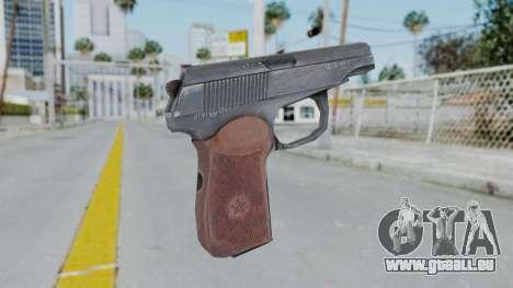 Arma2 Makarov pour GTA San Andreas deuxième écran
