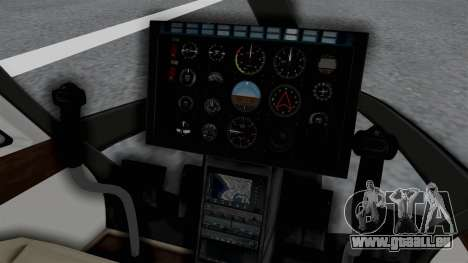 GTA 5 Super Volito Carbon pour GTA San Andreas vue de droite