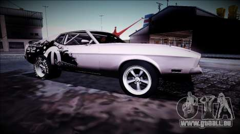 1971 Ford Mustang Drag pour GTA San Andreas vue de droite