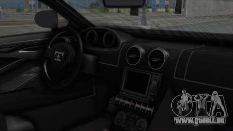 GTA 5 Truffade Adder v2 SA Lights für GTA San Andreas rechten Ansicht