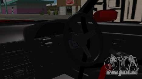 Nissan Silvia S13 Drift pour GTA San Andreas vue de droite