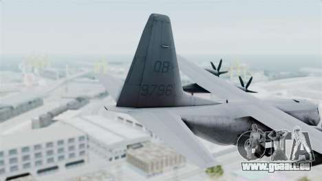 KC-130J Harvest Hawk für GTA San Andreas zurück linke Ansicht