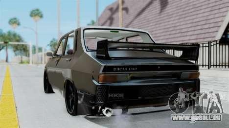 Dacia 1310 Tuned pour GTA San Andreas laissé vue
