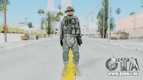 Acu Soldier 7 für GTA San Andreas zweiten Screenshot