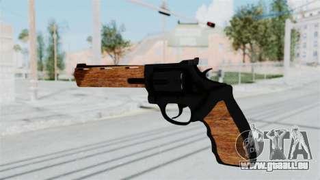 Wood Revolver pour GTA San Andreas troisième écran