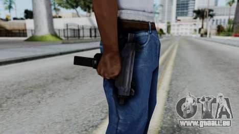 GTA 3 Uzi pour GTA San Andreas troisième écran