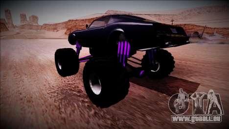 GTA 5 Imponte Phoenix Monster Truck pour GTA San Andreas laissé vue