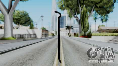 No More Room in Hell - Crowbar für GTA San Andreas zweiten Screenshot