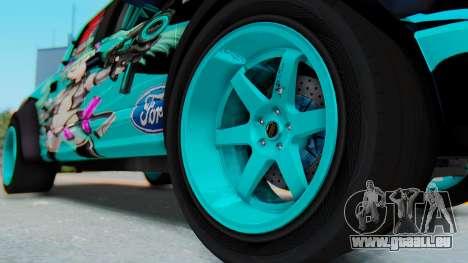 Ford F-150 2015 Drift Gym für GTA San Andreas Rückansicht