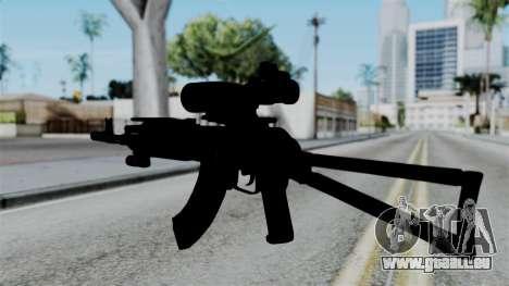AK-103 OGA pour GTA San Andreas deuxième écran