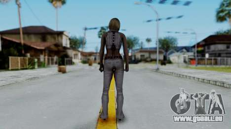 Resident Evil 4 Ultimate HD - Ashley Leather pour GTA San Andreas troisième écran