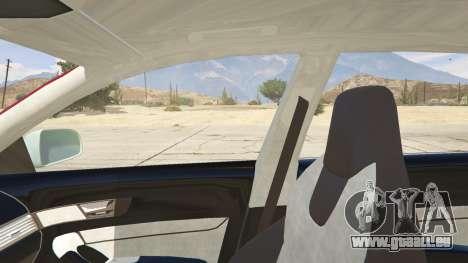 GTA 5 Audi RS6 Avant C6 2009 hinten rechts
