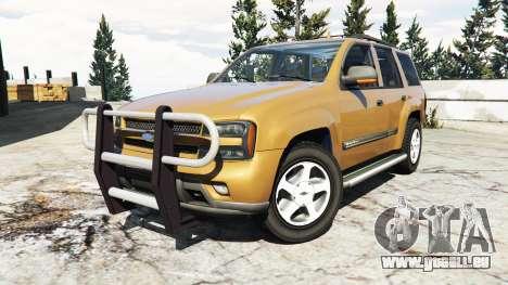 GTA 5 Chevrolet TrailBlazer rechte Seitenansicht