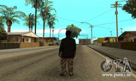 BALLAS3 pour GTA San Andreas troisième écran