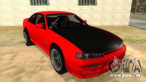 Nissan Silvia S14 Drag pour GTA San Andreas vue arrière
