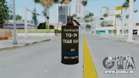 GTA 5 Tear Gas für GTA San Andreas dritten Screenshot
