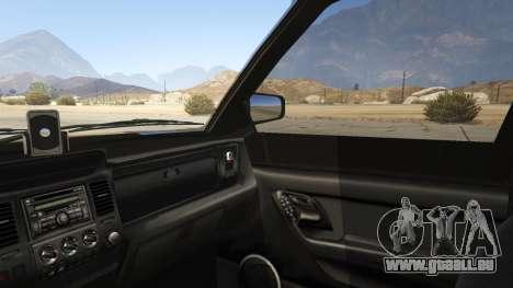 GTA 5 GTA IV Huntley arrière droit vue de côté
