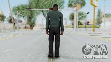 GTA 5 Franklin Clinton pour GTA San Andreas troisième écran