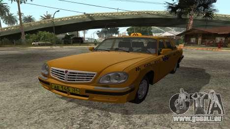 GAZ 31105 Volga Taxi FIV pour GTA San Andreas