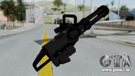 GTA 5 Minigun pour GTA San Andreas troisième écran