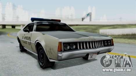 Police Clover pour GTA San Andreas