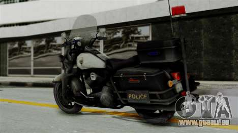Police Bike from RE ORC für GTA San Andreas linke Ansicht